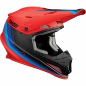 CASQUE CROSS THOR SECTOR SHEAR NOIR /JAUNE casques