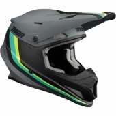 CASQUE CROSS THOR SECTOR SHEAR NOIR casques