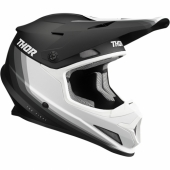 CASQUE CROSS THOR SECTOR SHEAR ROUGE/GRIS casques