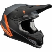 CASQUE CROSS THOR SECTOR HYPE NOIR/ROUGE casques