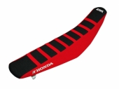 Housse de selle BLACKBIRD Zebra NOR/ROUGE HONDA 250 CR-F 2018 housses de selle