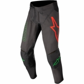 Pantalon ALPINESTARS CROSS Racer ATOMIC  GRIS/BLEU/ORANGE FLUO 2019 maillots pantalons