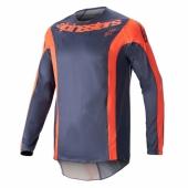 Maillot Cross ALPINESTARS Racer FLAGSHIP INDIGO/NAVY/ROSE FLUO 2019 maillots pantalons