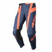 Pantalon ALPINESTARS CROSS Racer FLAGSHIP INDIGO/NAVY/ROSE FLUO 2019 maillots pantalons