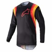 Maillot Cross ALPINESTARS SUPERTECH S9 BLANC/ROUGE 2019 maillots pantalons