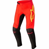 Pantalon ALPINESTARS CROSS SUPERTECH S9 BLANC/ROUGE 2019 maillots pantalons