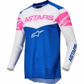 Maillot Cross ALPINESTARS SUPERTECH S9 ANTHRACITE/ORANGE FLUO 2019 maillots pantalons