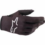 Gants Cross KID ALPINESTARS RADAR NOIR/BLANC   gants kids