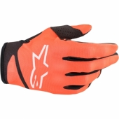 Gants Cross KID ALPINESTARS RADAR S9 NOIR/ORANGE FLUO 2019 gants kids