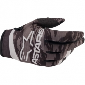 Gants Cross  KID ALPINESTARS RADAR S9 NOIR/ROUGE  2019 gants kids
