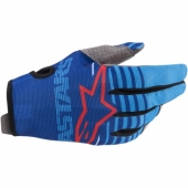Gants Cross KID ALPINESTARS RADAR S9 BLEU/BLANC/ROUGE 2019 gants kids