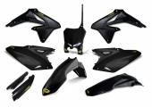KIT PLASTIQUE CYCRA 6 ELEMENTS NOIR SUZUKI 450 RM-Z 2008-2017 kit plastique cycra powerflow