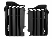 Cache Radiateur Polisport Noir Honda 450 CR-F 2017-2019 cache radiateur
