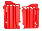Cache Radiateur Polisport Rouge Honda 450 CR-F 2017-2019 cache radiateur