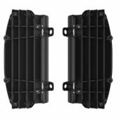 Cache radiateur POLISPORT NOIR KTM 250/350 SX-F 2016-2019 cache radiateur