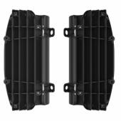 Cache Radiateur Polisport NOIR  KTM 125 et + EXC/EXC-F 2017-2019 cache radiateur