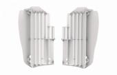 Cache Radiateur Polisport BLANC YAMAHA 450 YZ-F 2018 cache radiateur