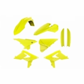 Kit plastique POLISPORT JAUNE/FLUO BETA 2 TEMPS RR 2013-2017 plastique polisport