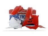 Kit plastique POLISPORT rouge/blanc GAS GAS 125 EC 2005-2006 plastique polisport