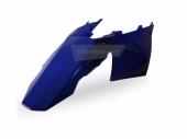 Garde-boue arrière + plaques latérales BLEU POLISPORT 250 EC 2007-2009 plastique polisport