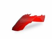 Garde-boue arrière + plaques latérales POLISPORT ROUGE 250 EC 2010-2011 plastique polisport