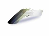 Garde-boue arrière + plaques latérales POLISPORT BLANC 250 EC 2011 plastique polisport