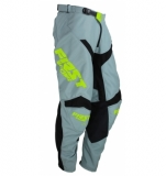 PANTALON FIRST RACING DATA EVO GRIS/LIME FLUO 2019 maillot pantalon kids