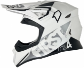 CASQUE FIRST RACING K2 EVO GRIS METAL/FLUO casques