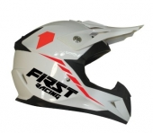 CASQUE FIRST RACING KID KOBALT  2 BLANC casque kids