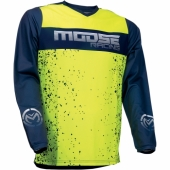 MAILLOT MOOSE RACING QUALIFER  VERT / BLANC 2019 maillots pantalons