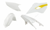 Kit plastique RACETECH couleur origine (2015) BLANC/JAUNE HUSQVARNA 250 FE 2015-2016 plastiques racetech