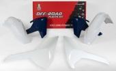 Kit plastique RACETECH couleur origine (2017) HUSQVARNA 250 FE 2017-2018 kit plastiques racetech