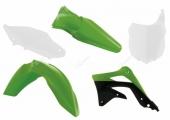 Kit plastique RACETECH couleur origine (2015) KAWASAKI  450 KX-F  2013-2015 kit plastiques racetech