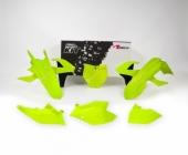 Kit plastique RACETECH jaune fluo/noir KTM 150 SX 2016-2018 kit plastiques racetech