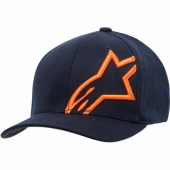 CASQUETTE ALPINESTARS CORP SHIFT-2  NAVY/ORANGE casquettes