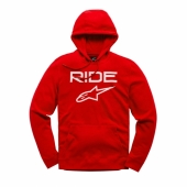 SWEAT ALPINESTARS RIDE 2.0 ROUGE / BLANC sweatshirt