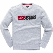 SWEAT ALPINESTARS INDULGENT  GRIS sweatshirt