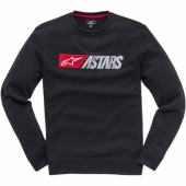 SWEAT ALPINESTARS ALWAYS-II NOIR / BLANC  2019 sweatshirt