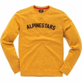 SWEAT ALPINESTARS JUGEMENT MOUTARDE sweatshirt