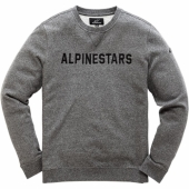 SWEAT ALPINESTARS DISTANCE CHARCOAL 2019 sweatshirt