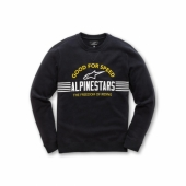 SWEAT ALPINESTARS BARS NOIR 2019 sweatshirt