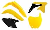 Kit plastique RACETECH couleur origine (2017) jaune/noir SUZUKI 450 RM-Z  2008-2017 kit plastiques racetech