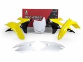 Kit plastique RACETECH couleur origine SUZUKI 450 RM-Z 2018 kit plastiques racetech