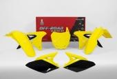 Kit plastique RACETECH couleur origine (2017) jaune/noir SUZUKI 250 RM-Z 2010-2018 kit plastiques racetech