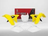 Kit plastique RACETECH couleur origine (2018) SUZUKI 250 RM-Z 2010-2018 kit plastiques racetech