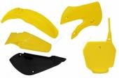 Kit plastique RACETECH couleur origine (2017) jaune/blanc SUZUKI 85 RM 2002-2018 kit plastiques racetech