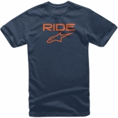 T-SHIRT ALPINESTARS RIDE 2.0 NOIR / ORANGE 2019 tee shirt