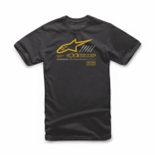 T-SHIRT ALPINESTARS STRAT  NOIR 2019 tee shirt