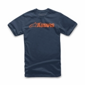 T-SHIRT ALPINESTARS MX BLAZE NAVY 2019 tee shirt