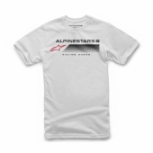 T-SHIRT ALPINESTARS  FORWARD BLANC 2019 tee shirt